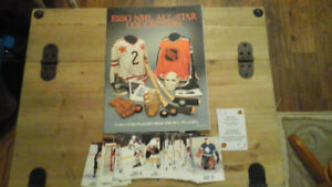 Vintage 1988-89 Esso Hockey Album & Sticker Set (48)