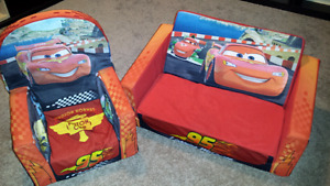 Soft Cushion Couch & Chair for kids