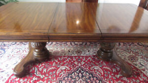 Beautiful solid wood Dining table & Credenza