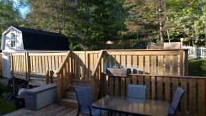 Used Pool Deck, for 24 ft a/g Pool