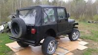 Parting out or sell hole Jeep for 500$