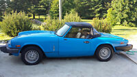 1979 Triumph Spitfire 1500 for Sale