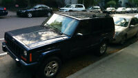 2001 Jeep Cherokee cuire VUS