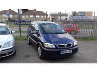 2004 Vauxhall Zafira 1.6i 16v Life ( 7 SEATER )