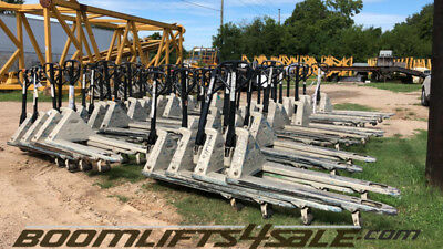 Crown Pth 50 27-48 Pallet Jack 5000lbs Cap - 100 Instock Used - Texas
