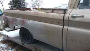 1966 chevrolet c10 long box project