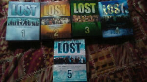 Selling lost seasons 1,2,3,4,5