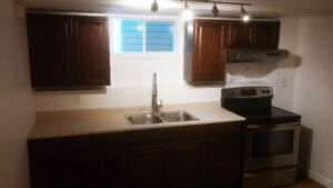 2 bedroom basement apartment all inclusive available November 1