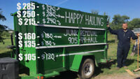 Happy Hauling Junk Removal- Your junk is our business -Niagara​