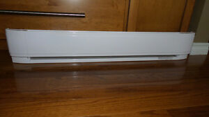 New electrical baseboards
