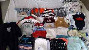Baby Boy lot - over 75 items