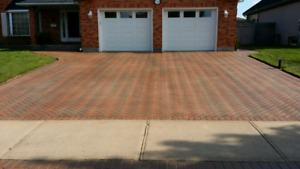 D&R DRIVEWAY clean and seal Brick and concrete