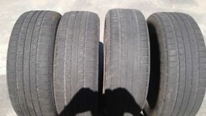 """set of 4  225/60R18"""" tires $80.00"""