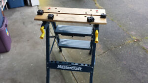 Mastercraft folding work table