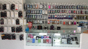 ☎ Cases, Chargers, Batteries, and more at our Bedford store ++ ✆