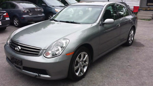 2005 G35x AWD NAVIGATION KEYLESS START LEATHER