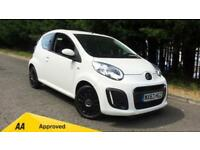 2013 Citroen C1 1.0i VTR 3dr Manual Petrol Hatchback