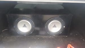 Selling Subs and Amp