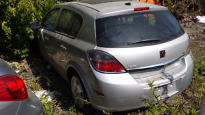 2009 Saturn Astra 4dr HB 5spd 28k km parting out