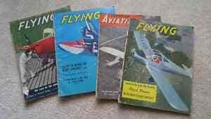 1930s, 1940s and 1950s Flying Magazines-NEW PRICE!
