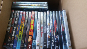 Lot of 50 dvds