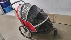 Schwinn Joyrider Double Bike Trailer/Stroller