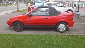 1991 Pontiac Firefly Convertible Cabriolet