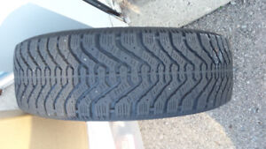Snow tires on rims. Reduced price.