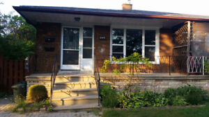 Renovated 2 bedroom house in Applewood East Mississauga