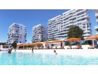 5 star apartment complex in NORTH CYPRUS 25% down now, and 15 year mortgages available