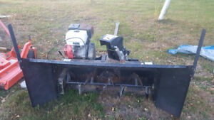 atv or side by side snowblower