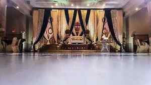 BANQUET HALL FULL PACKAGE WEDDING STAGE BACKDROP DECOR