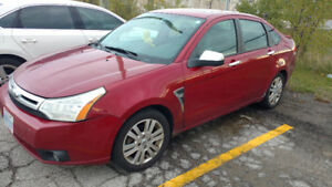 2009 Ford Focus SEL Sedan