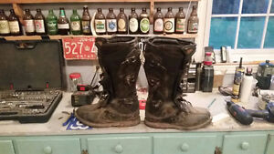 Size 13 Thor MX boots