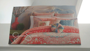 Jessica Simpson twin duvet cover + 2 decorative cushions