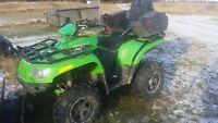 2007 Arctic Cat 400 4x4 automatic Quad for sale.