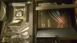 New ASUS STRIX X299-E GAMING LGA 2066 Motherboard with warranty