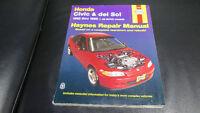 Shop service manuel d'entretien Honda Civic de Haynes