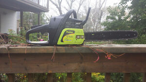 """Poulan 14"""" chainsaw for repair/parts.New chain in pkg.included"""