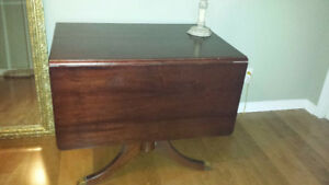2 Duncan phyfe dining tables