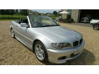 2004 BMW 3 Series 318 Ci SPORTS CONVERTIBLE PART EXCHANGE TO CLEAR CONVERTIBLE P