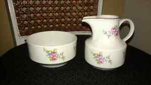 Antique milk and sugar bowl set 1777 Henneburg Porcelain  Kitchener / Waterloo Kitchener Area image 1