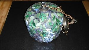 Stain glass ceiling light
