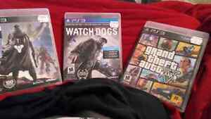 PS3 games all 3 for $20
