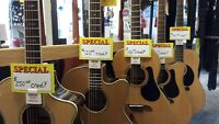 Mingo's Summer guitar sale #2- store credits on select models!