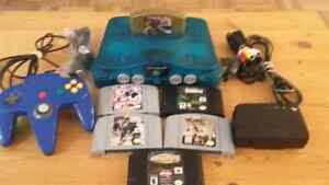 N64 WITH 6 GAMES FOR TRADE/SELL