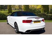 2013 Audi RS5 4.2 FSI Quattro 2dr S Tronic Automatic Petrol Cabriolet