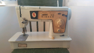 Antique Singer Sewing Machine Model 478 Red Label