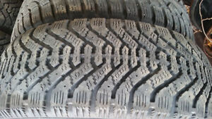 GoodYear winter Tires (4) with Rims (215-65-15)