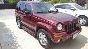2003 Jeep Liberty limited 169,000km
